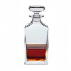 Square Handmade Spirit Decanter
