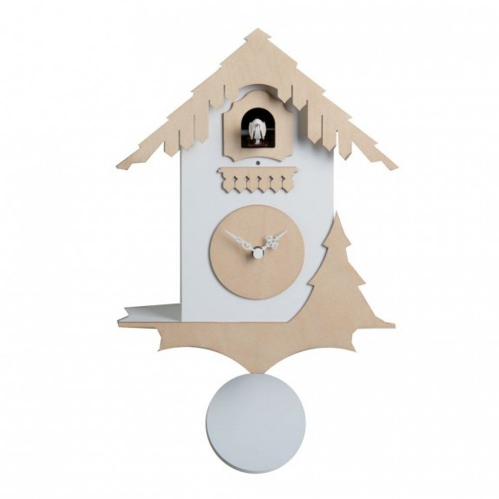 diamantini domeniconi chalet cuckoo clock from black by. Black Bedroom Furniture Sets. Home Design Ideas