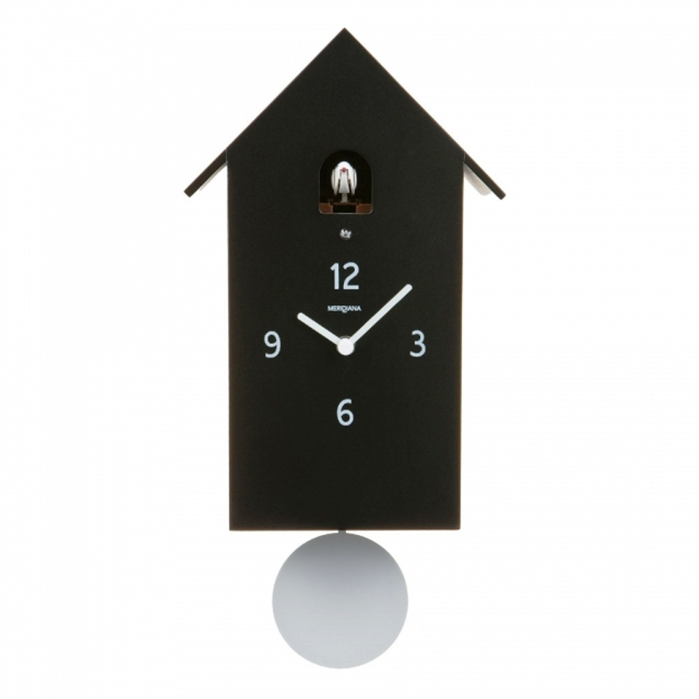 diamantini domeniconi meridiana cuckoo clock at black by design. Black Bedroom Furniture Sets. Home Design Ideas