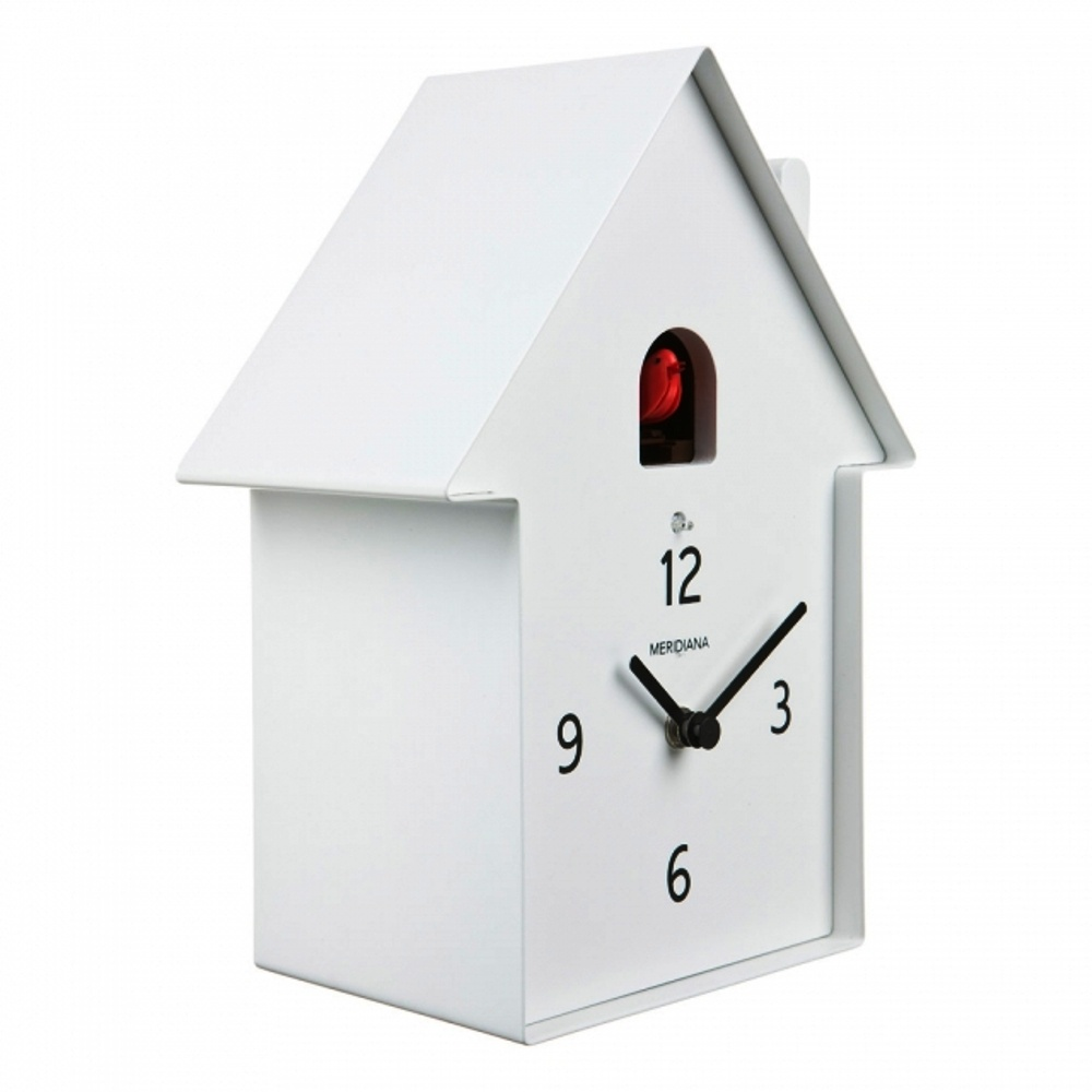 Diamantini Domeniconi Red White And Black Meridiana Cuckoo Clock