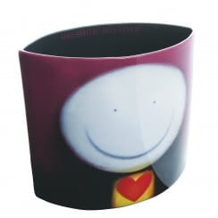 Doug Hyde Big Smile, Big Love Ceramic Vase
