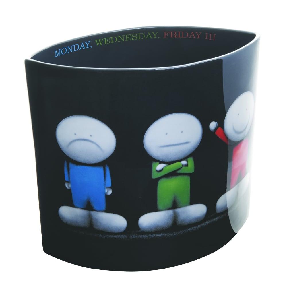 Doug Hyde Monday Wednesday Friday Iii Vase Black By Design