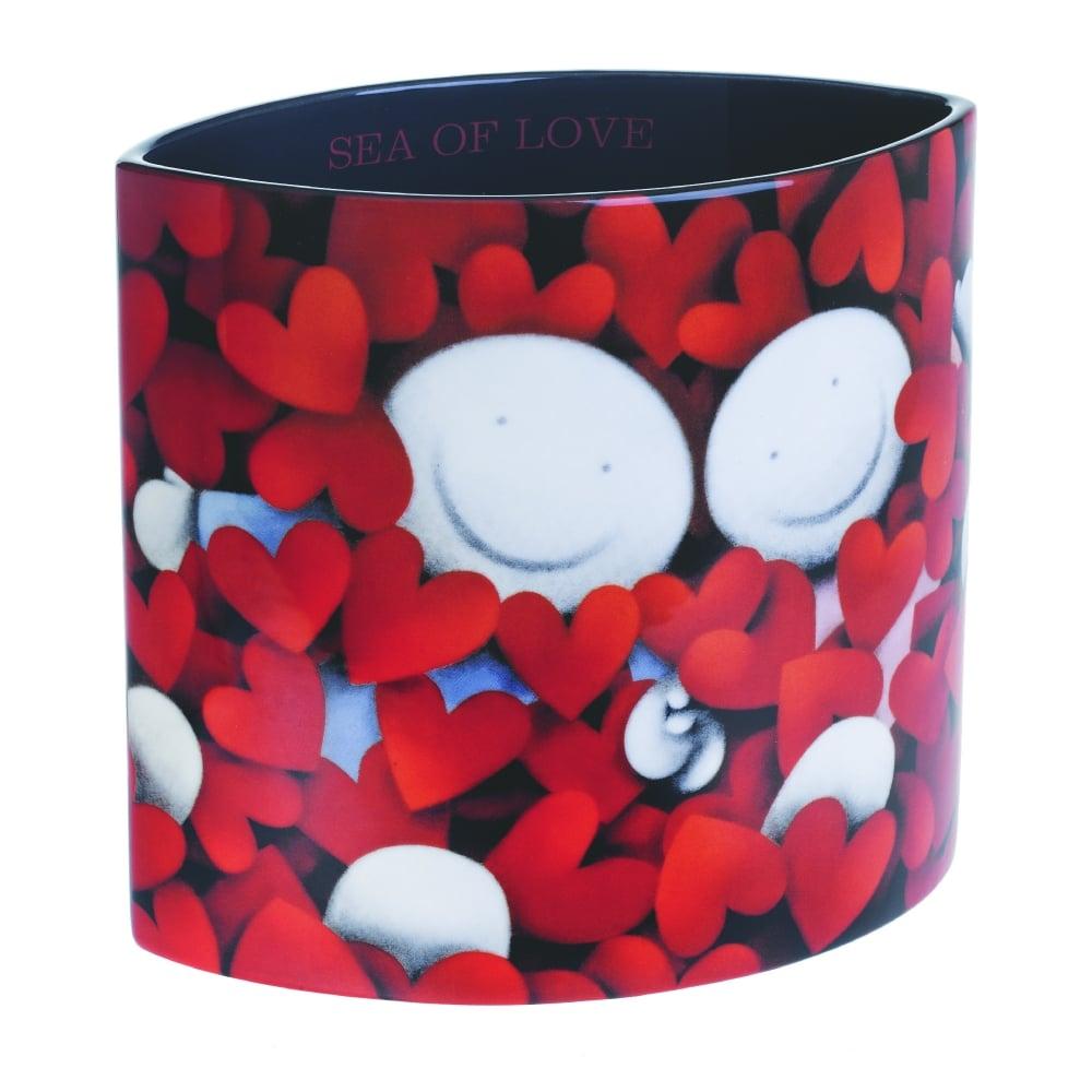 doug hyde sea of love vase black by design. Black Bedroom Furniture Sets. Home Design Ideas