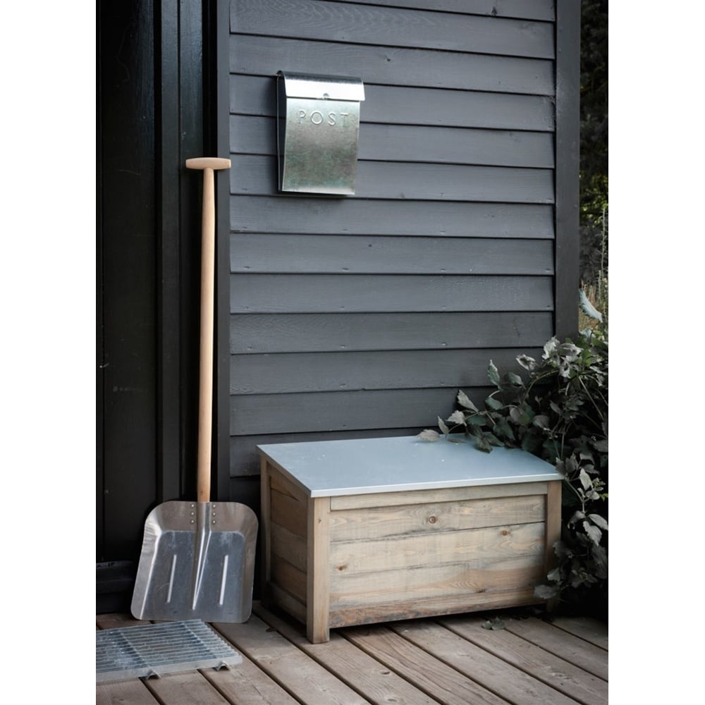 Garden Trading Aldsworth Outdoor Storage Box Small Black By Design