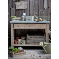 Aldsworth Potting Table - Spruce