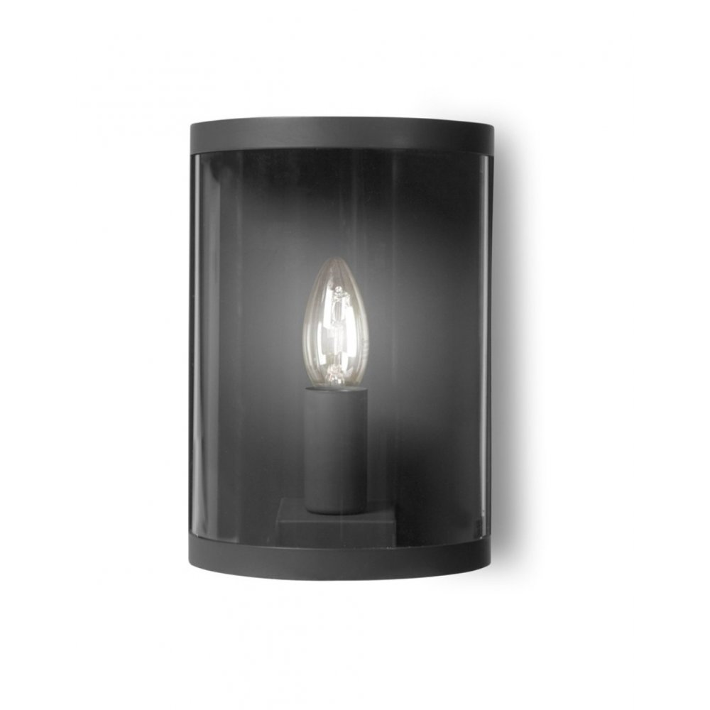 Garden Trading Outdoor Wall Lights : Garden Trading Astall Wall Light Charcoal Black by Design
