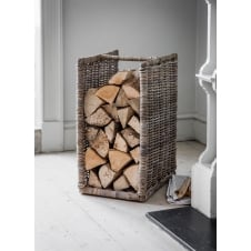 Bembridge Log Holder - Rattan