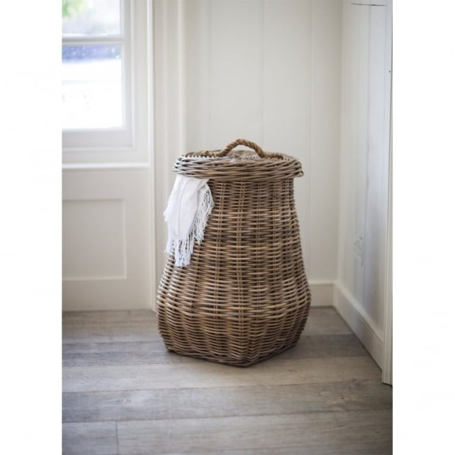Garden Trading Bembridge Rattan Laundry Basket - 68cm