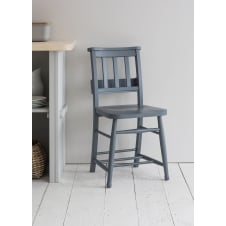 Chapel Chairs in Charcoal - Set of 2 Chairs