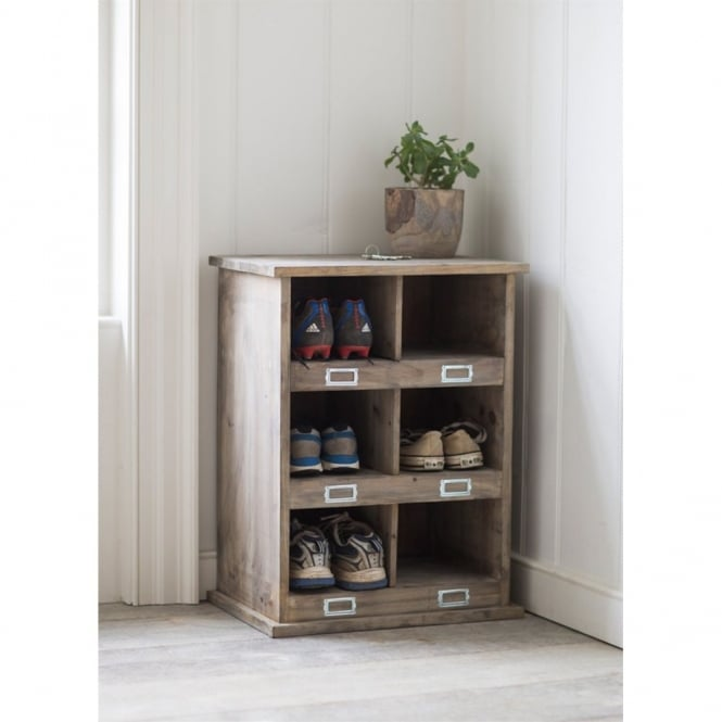 Garden Trading Chedworth Shoe Locker with 6 Cubby Holes