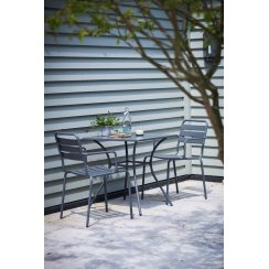 Dean Street Bistro Table & Chairs - Charcoal