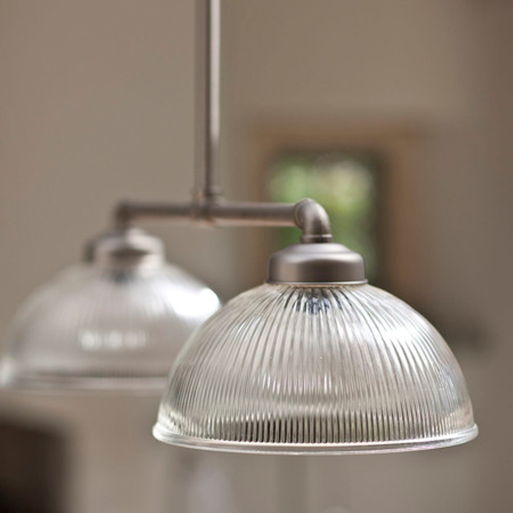 Petit Paris Glass Pendant Light For Sale: Garden Trading Adjustable Double Paris Glass Pendant Light
