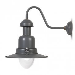 Fishing Wall Mounted Light - Charcoal