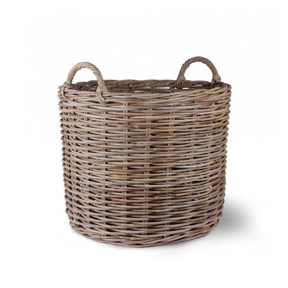 garden trading giant rattan log basket. Black Bedroom Furniture Sets. Home Design Ideas