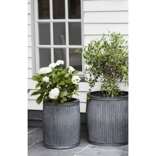 Large Vence Planters - Steel - Set of 2