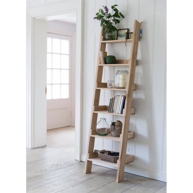 Garden Trading Raw Oak Shelf Ladder - Small
