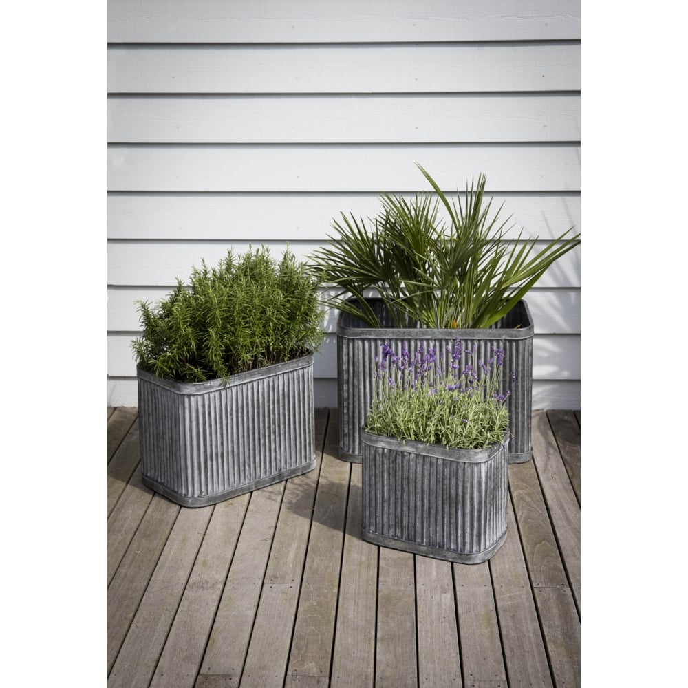 street planters metal design planter prod selby square rectangular product contemporary rectangle