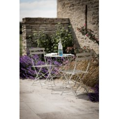 Rive Droite Bistro Table & 2 Chair Set - Clay