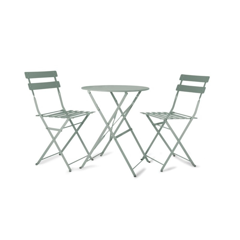 rive droite bistro table u0026amp chairs set shutter blue - Bistro Table Sets
