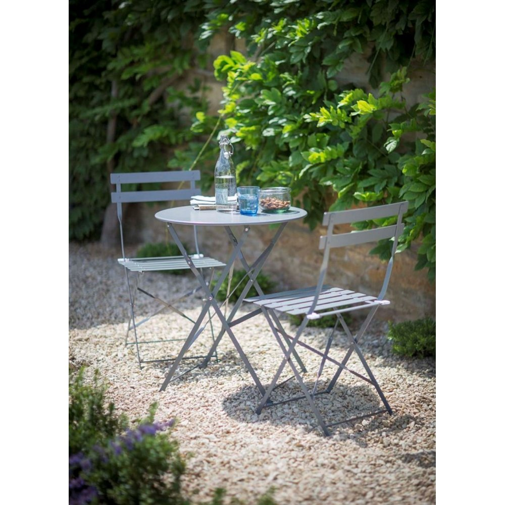 garden trading rive droite bistro table and chairs set