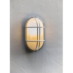 St Ives Bulk Head Wall Light - Hot Dipped Galvanised Steel
