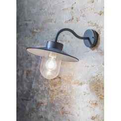 St Ives Swan Neck Light - Charcoal/Light Grey