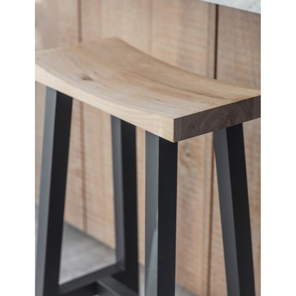 Surprising Tall Clockhouse Stool With Carbon Legs Oak Beech Creativecarmelina Interior Chair Design Creativecarmelinacom