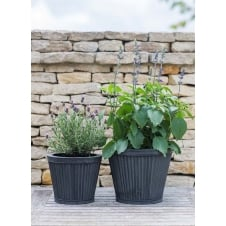 Tapered Vence Planters - Set of 2