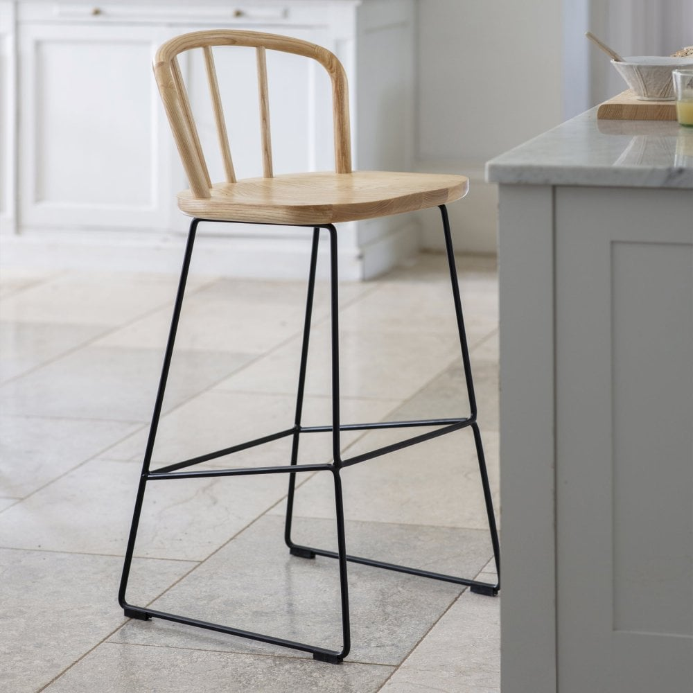 Stupendous Uley Bar Stool Ash Creativecarmelina Interior Chair Design Creativecarmelinacom