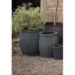 Vence Planters - Set of 2 - Fluted