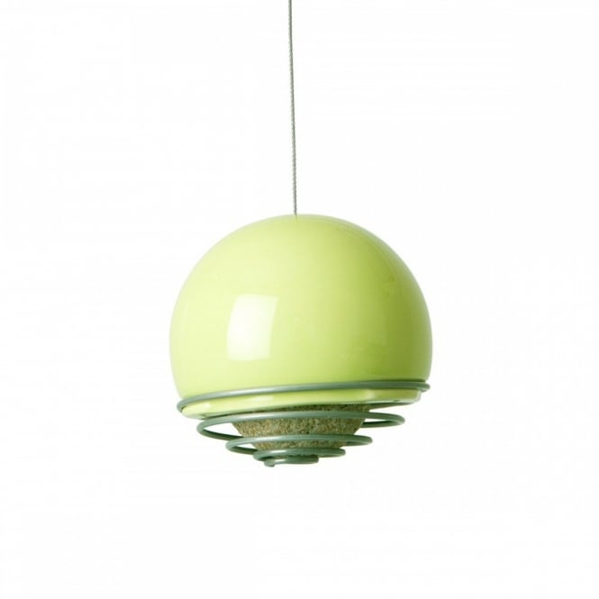Green & Blue Birdball Belle Suet Ball Feeder - Lime