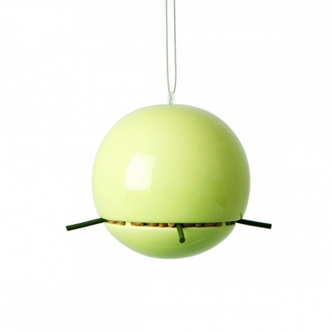 Green & Blue Birdball Peanut Feeder - Lime