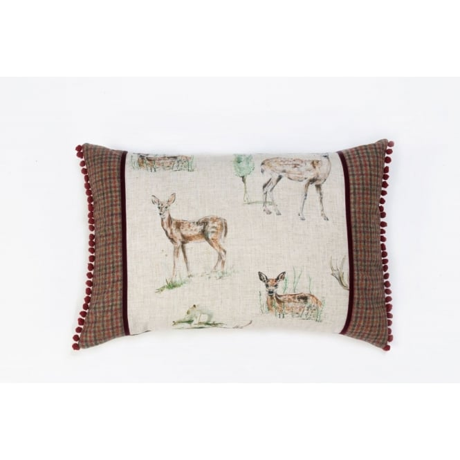 Hannah Williamson Best in Show - Large Panel Stag Cushion 40cm x 60cm