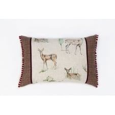 Best in Show - Large Panel Stag Cushion 40cm x 60cm