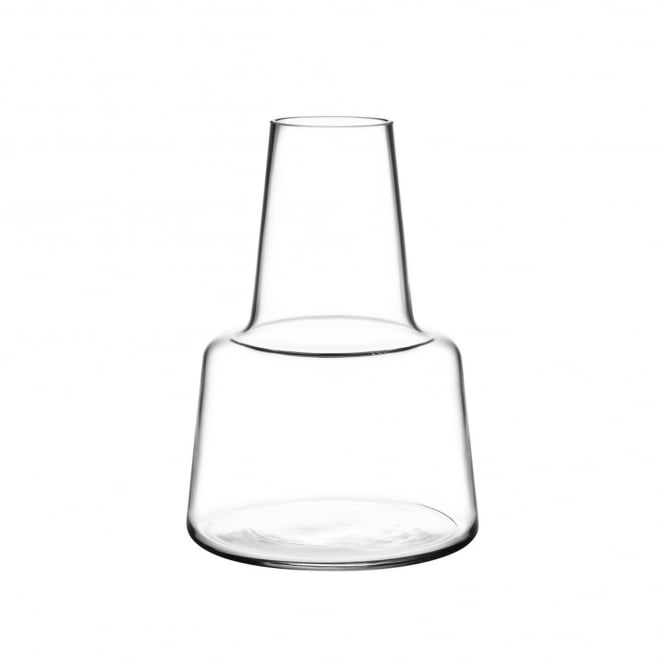 Holmegaard Flora Medium Neck Vase - Clear - H12cm