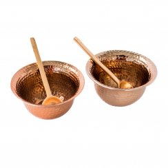Copper Condiment Set - Set of 2