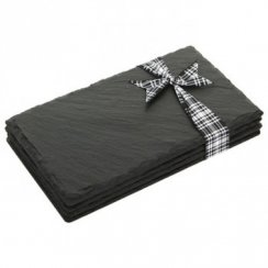 Double Slate Coasters - Set of 4