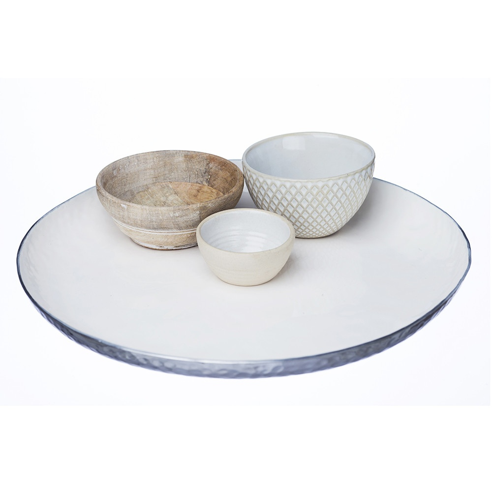 Just Slate Mixed Artisan Serving Set From Black By Design