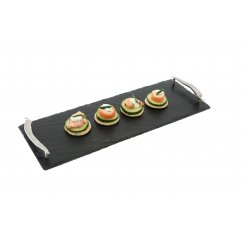 Slate Serving Tray with Chilli Handles - Small