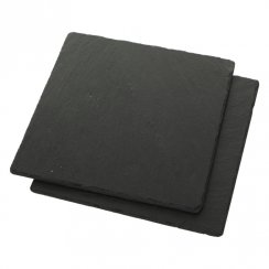 Square Slate Placemats - Set of 2