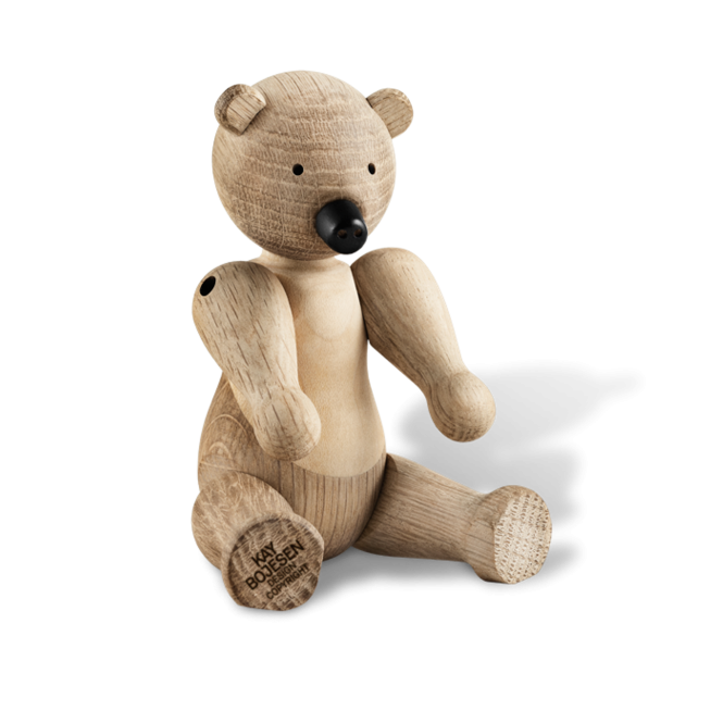 Kay Bojesen Wooden Bear Figurine - Oak & Maple