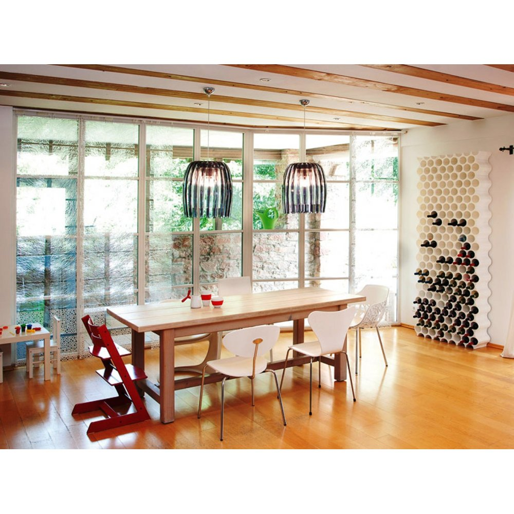 Koziol Hanglamp Josephine M.Koziol Josephine Pendant Lamp Anthracite Black By Design