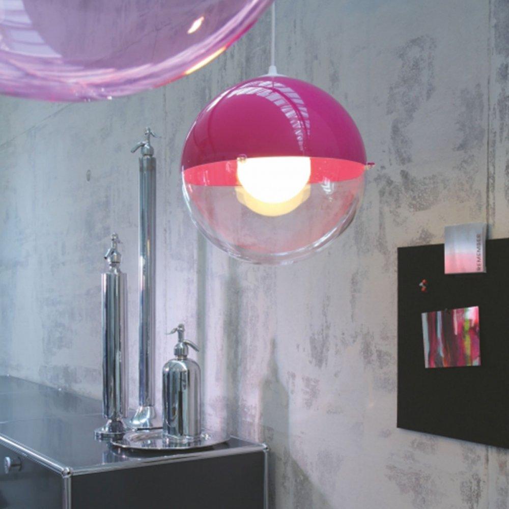 Koziol Hanglamp Orion.Koziol Orion Pendant Lamp Pink
