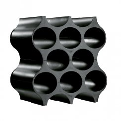 Set-Up Bottle/Wine Rack - Black