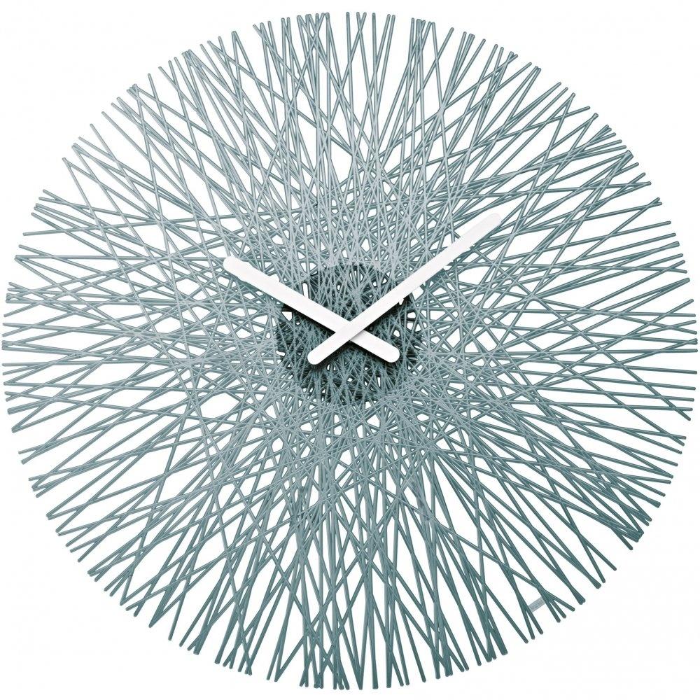 Koziol Silk Wall Clock Anthracite Black By Design