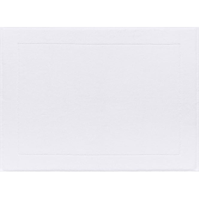 Le Jacquard Français Caresse Cotton Bath Mat - White