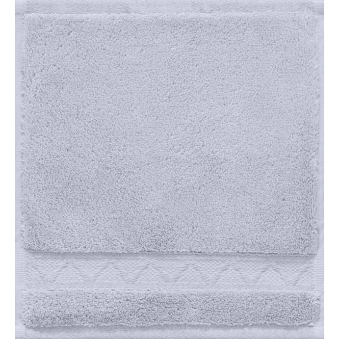 Le Jacquard Français Caresse Cotton Washcloth - Cloud Grey
