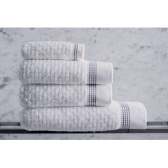 Couture Cotton Towels - White