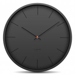 Tone Stainless Steel Wall Clock - Black