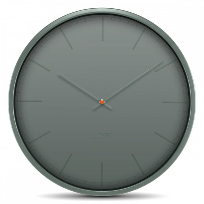 LEFF Amsterdam Tone Stainless Steel Wall Clock - Grey